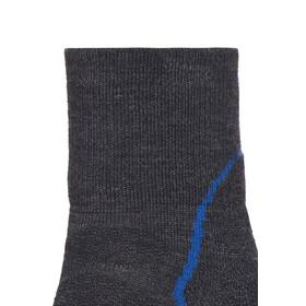 Icebreaker Hike+ Light Mini Socks Men jet hthr/cadet/black